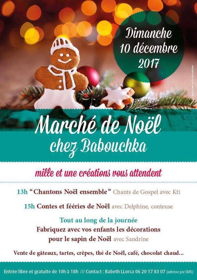 Marché de Noël chez Babouchka à Mérignac